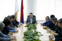 Айк Марутян представил нового руководителя административного района Аван