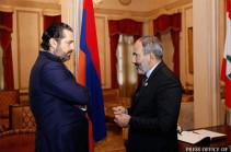 Премьер-министр Ливана поздравил Никола Пашиняна