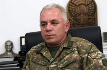 Levon Mnatsakanyan dismissed from post of Commander of Artsakh's Defense Army