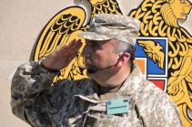 Major-General Karen Abrahamyan appointed Artsakh Republic defense minister, commander of the Defense Army