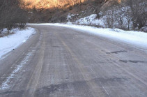 Минтранс Армении: Участок трассы от Севанского полуострова до Дилижанского тоннеля труднопроходим