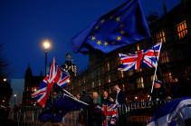 Լոնդոնում Brexit-ի կողմնակիցները արգելափակել են Վեստմինստերյան կամուրջը