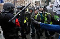 Ֆրանսիայում ցույցերի պատճառով սկսվել է մոտ 70 հազար ոստիկանի ապակենտրոնացում
