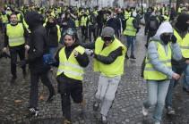 Шесть человек задержаны в Париже перед акциями протестов