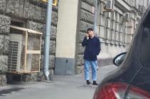 Մոսկվայում դանակով զինված տղամարդը հարձակվել է ոստիկանի վրա