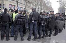 Ֆրանսիայում ձերբակալվել է բողոքի ակցիաների ավելի քան 50 մասնակիցներ
