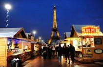 Փարիզում խստացրել են Սուրբ ծննդյան տոնավաճառների այցելուների հսկումը