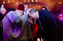 Վրաստանի կաթողիկոսն օրհնել է ՀՀ նախագահին (լուսանկարներ)