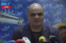 Մանվել Գրիգորյանի փաստաբան Լևոն Բաղդասարյանի ասուլիսը