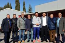 Հայաստանի ազգային հավաքականի մարզիչները հանդիպել են Դիեգո Սիմեոնեին