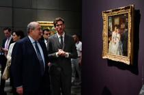 Հայկական արվեստն անպայման պետք է ներկայացված լինի այստեղ. Հայաստանի նախագահ Արմեն Սարգսյանն այցելել է Աբու Դաբիի Լուվր թանգարան