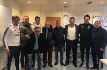 Հայաստանի հավաքականի մարզիչները հնարավորություն են ունեցել հետևելու Մադրիդի «Ռեալի» մարզմանը