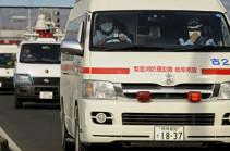 В Японии не менее 40 детей госпитализировали после пожара в начальной школе