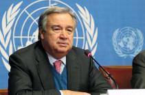ՄԱԿ-ը պատրաստ է աջակցել ԵԱՀԿ ՄԽ ջանքերին` միտված ԼՂ հակամարտության խաղաղ հանգուցալուծմանը. Գուտերեշը շնորհավորել է Փաշինյանին