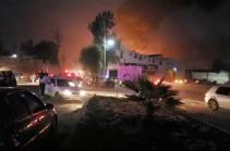 В Мексике потушили пожар на трубопроводе