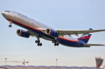 Երթուղին փոխած «Աէրոֆլոտի» ինքնաթիռը վայրէջք է կատարել Խանտի-Մանսիյսկում