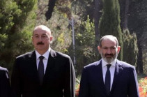 Azerbaijani president describes conversations with Armenia's PM as 'useful'