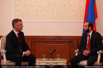 Azerbaijani military rhetoric impedes negotiation process: NA chairman