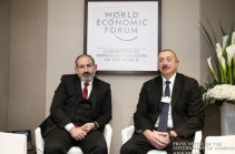 Armenia's PM meets with Azerbaijani president, discusses Karabakh negotiation process. VIDEO