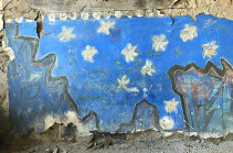 Fresco of renowned Armenian artist Minas at the edge of distruction