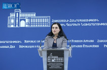 Armenia to voice issue of sale of Israeli UAV to Azerbaijan at bilateral meetings and at multisided platforms: Armenia's MFA