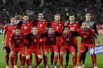 Հայաստանի հավաքականը 101-րդն է ՖԻՖԱ-ի դասակարգման աղյուսակում