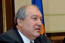 Любой вариант карабахского урегулирования, кроме мирного, для всех будет абсолютно катастрофичным – президент Армении