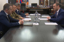 Командующий Армией обороны Арцаха и секретарь Совбеза Армении обсудили ситуацию на линии соприкосновения