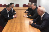 Armenian Republican party members meet with Russian State Duma delegation