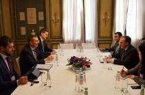 Զոհրաբ Մնացականյանը Լատվիայի ԱԳ նախարարի հետ քննարկել է հայ-լատվիական օրակարգի հարցերի լայն շրջանակ
