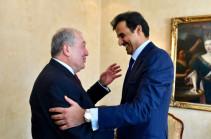 Հայաստանի նախագահը Կատարի էմիրին հրավիրել է պաշտոնական այց կատարել Երևան
