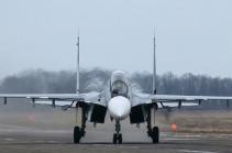 Армения планирует приобрести у России 12 истребителей Су-30СМ