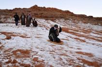 Սաուդյան Արաբիայում ձյուն է տեղացել