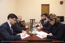 Ռուբեն Ռուբինյանը ՌԴ դեսպանի հետ քննարկել է ինտեգրացիոն միավորումներում փոխգործակցության արդյունավետության բարձրացմանը վերաբերող հարցեր