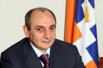 В Арцахе с глубоким прискорбием узнали о смерти армянского национального благотворителя, общественного деятеля Луиз Симон Манукян – Бако Саакян