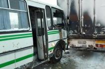 Մոսկվայում ավտոբուսը բախվել է բեռնատար ավտոմեքենային