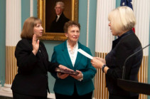 Lynne M. Tracy officially sworn in to serve as U.S. Ambassador to Armenia