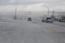 Минтранс Армении: Перевал Варденяц закрыт для транспортных средств с прицепом