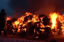 «Հանուն Ռուսաստանի ամրապնդման» 5 ուղտ են այրել
