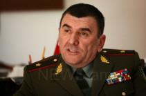 Генерал-майор Армен Абрамян назначен заместителем начальника СНБ Карабаха