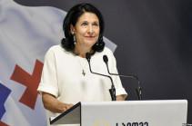 Մարտի առաջին կեսին Հայաստան կժամանի Վրաստանի նախագահ Սալոմե Զուրաբիշվիլին