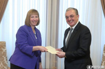 Հայաստանի ԱԳ նախարար Զոհրաբ Մնացականյանն ընդունեց ԱՄՆ նորանշանակ դեսպան Լին Թրեյսիին