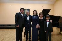 Սերգեյ Քյոսայանի հոբելյանին նվիրված համերգին հնչեցին ոչ միայն կոմպոզիտորի ստեղծագործությունները, այլև՝ մյուս դասականների