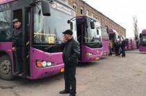 Երևանում ավտոբուսների վարորդները բողոքում են ավտոբուսներում տեսախցիկների տեղադրման դեմ