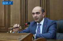 No soldier should leave Armenia bypassing parliament: Marukyan on Armenia's mission in Syria