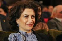 Анна Акопян направила поздравительное послание Светлане Медведевой