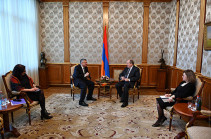 Президент Армен Саркисян принял сопредседателя Совета попечителей Армянской Ассамблеи Америки