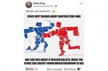 Կոնգրեսականը ԱՄՆ-ում քաղաքացիական պատերազմը պատկերել է վիրավորական մեմով