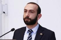 Арарат Мирзоян: Полны решимости вместе со своими европейскими партнерами расширять и углублять процесс институциональных реформ