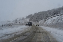 Վարդենյաց լեռնանցքը ծանրաքաշ և կցորդիչով մեքենաների համար փակ է